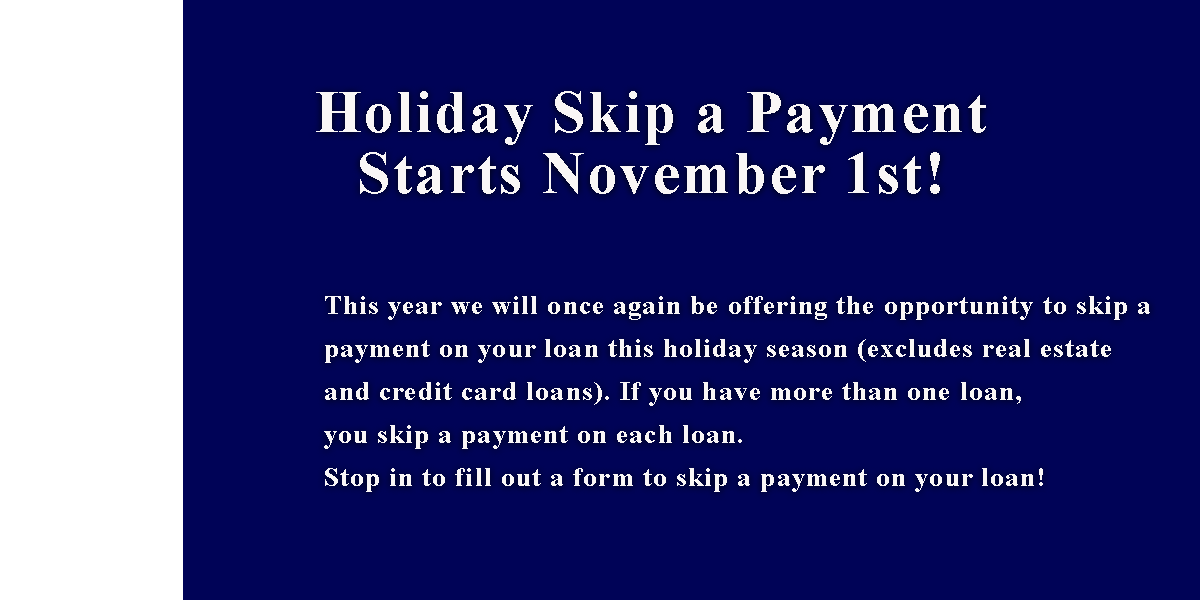 Holiday Skip A Pay